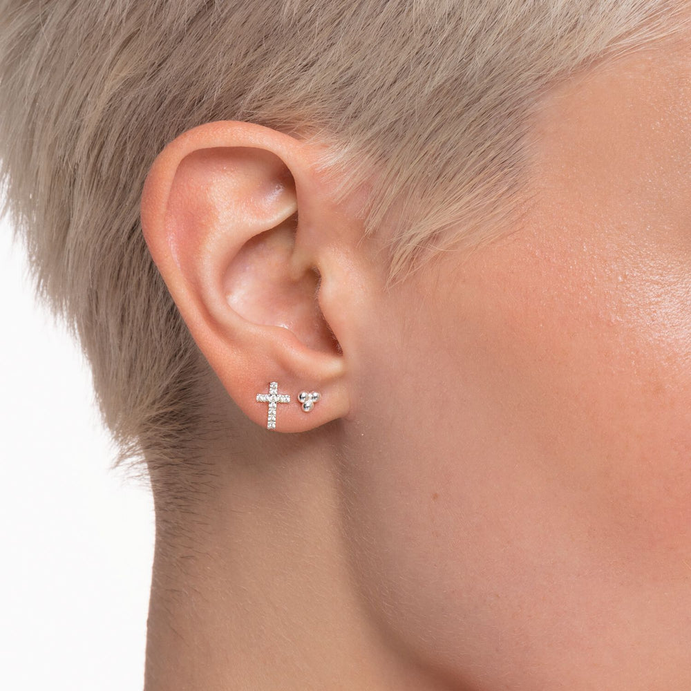 Ear Stud Cross (Single) | Thomas Sabo Australia