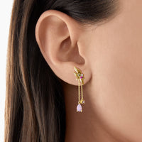 Earring Flower Gold