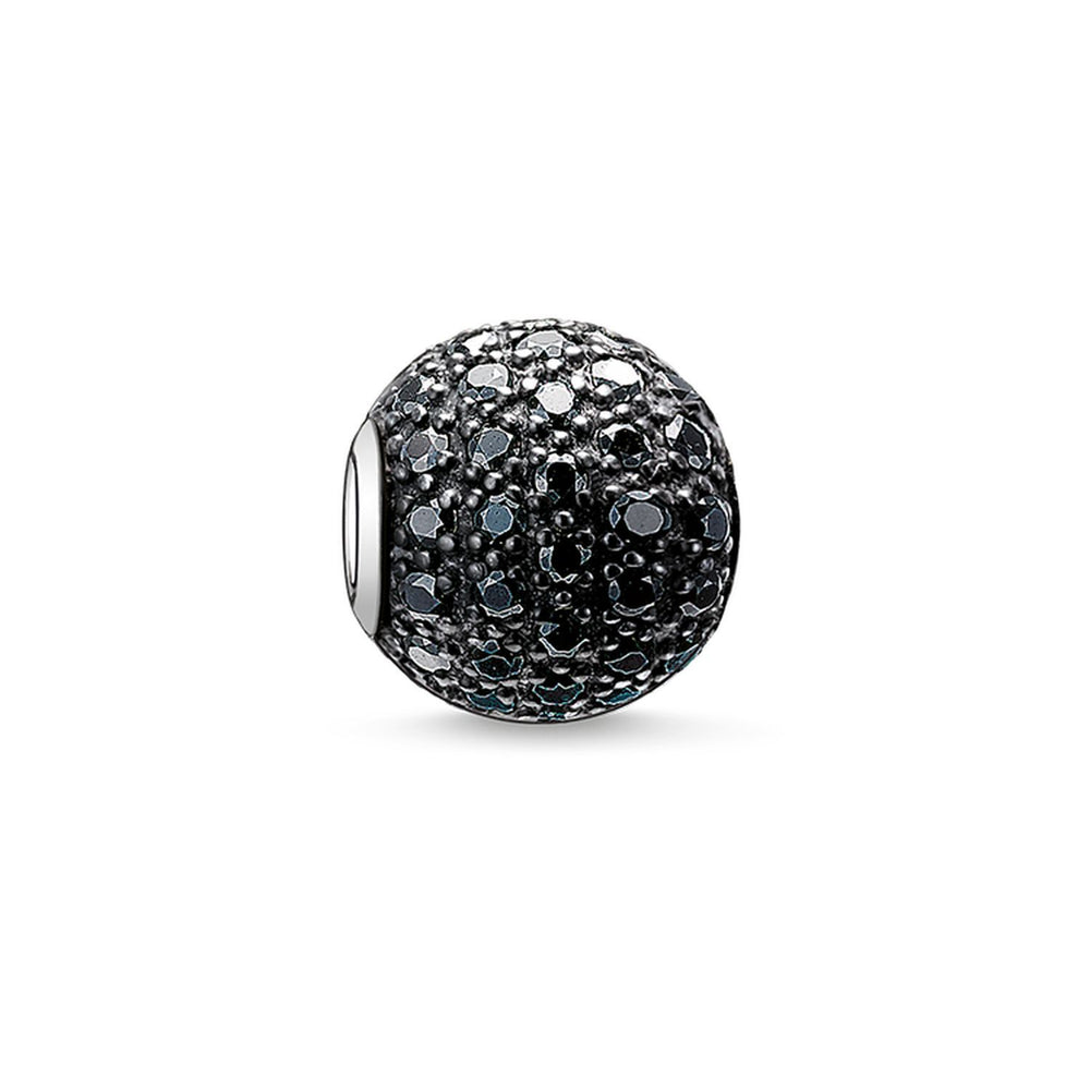 "Bead ""Black Pavé"" 