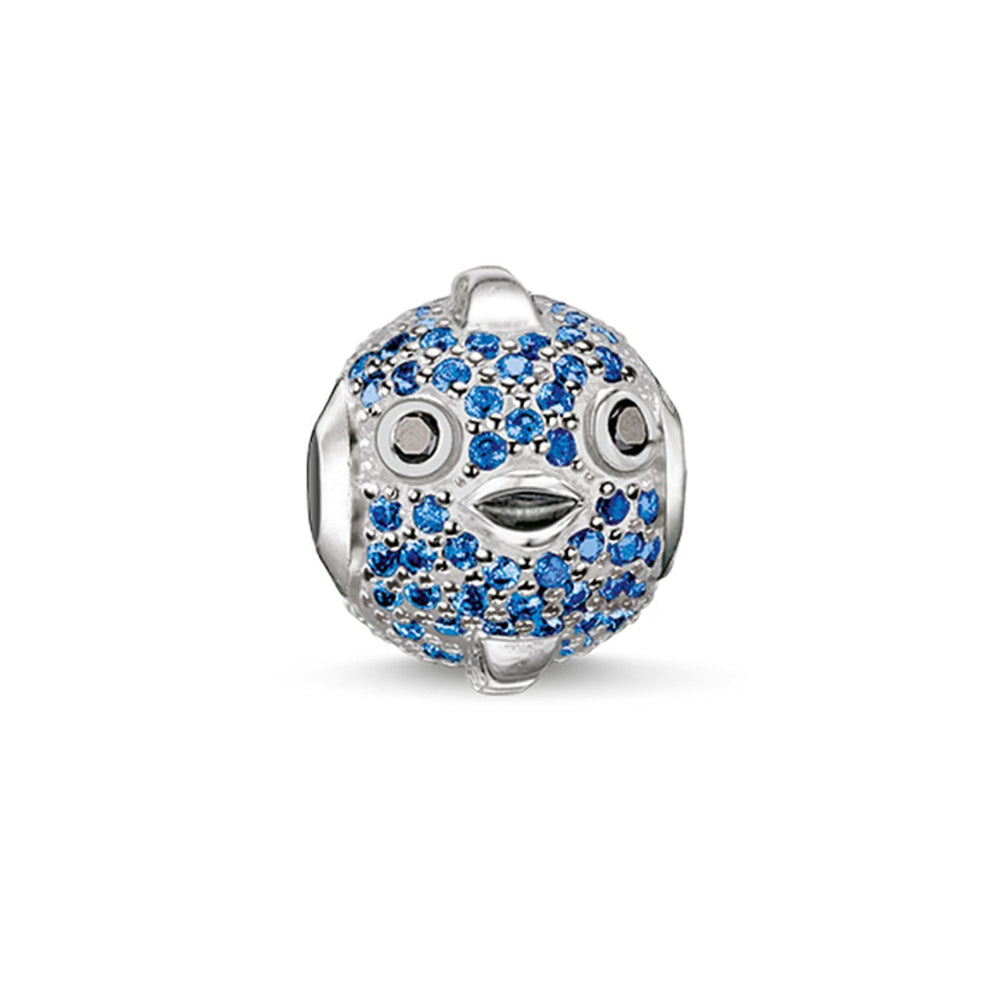 "THOMAS SABO Bead ""Blue Pufferfish"""