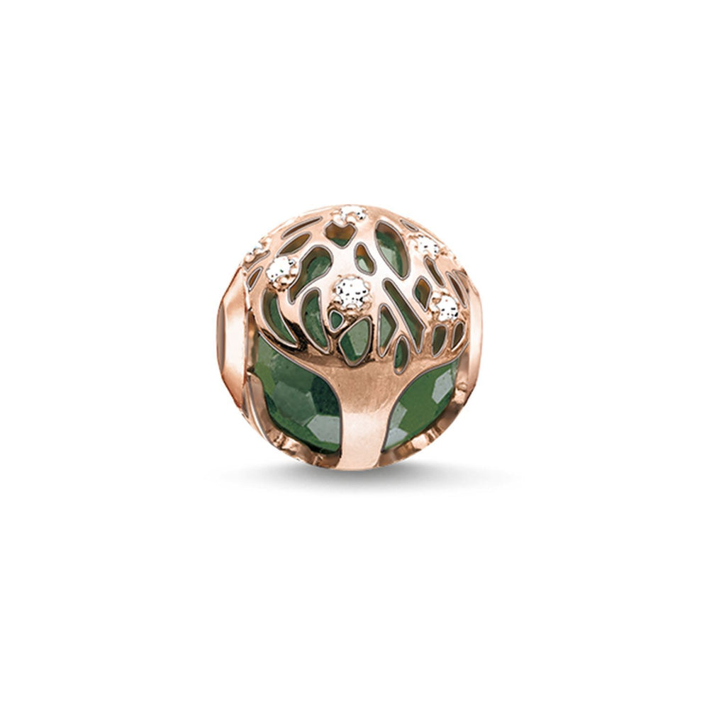 "THOMAS SABO Bead ""Green Tree"""