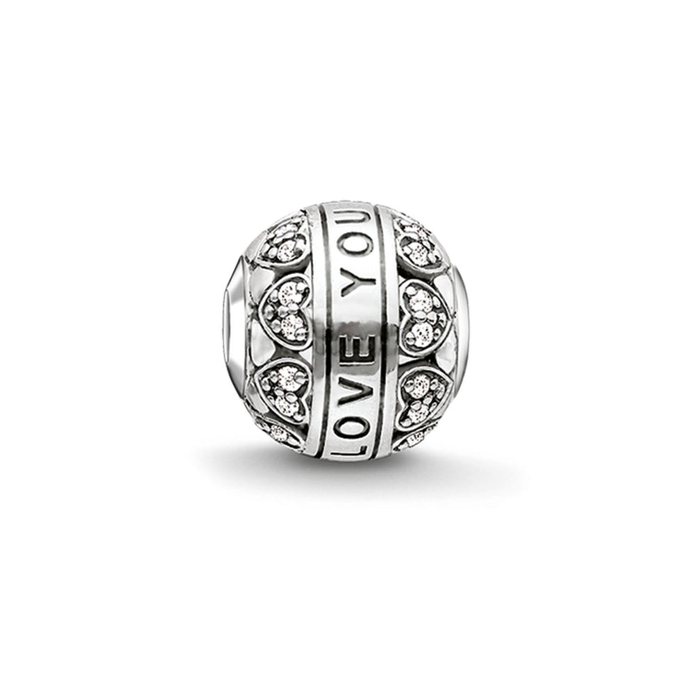 "THOMAS SABO Bead ""I LOVE YOU"""