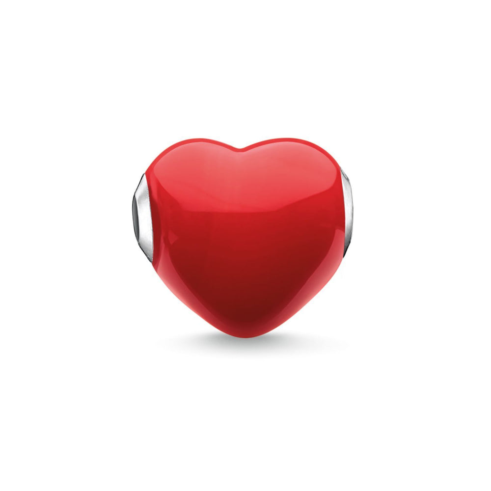 "THOMAS SABO Bead ""Glass Heart Red"""
