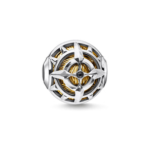 Bead Compass Gold