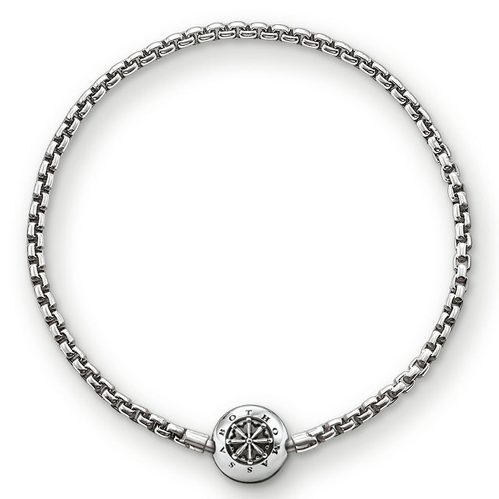 "THOMAS SABO Bracelet for Beads ""Blackened"""