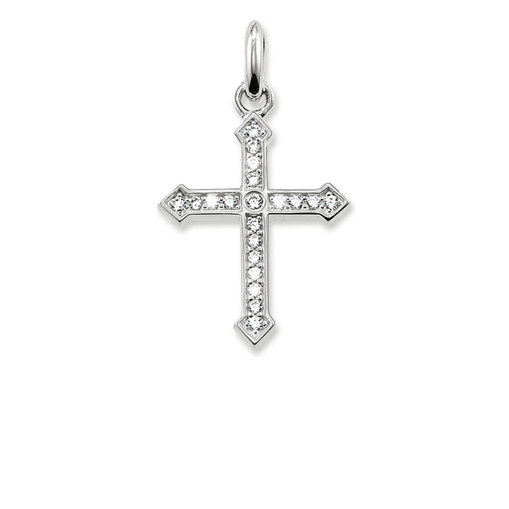 "THOMAS SABO Pendant ""Cross Pavé"""