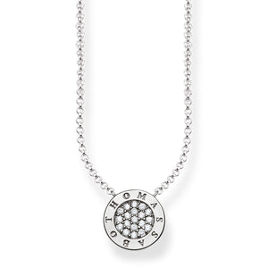 "Thomas Sabo Necklace ""Classic Pavé"