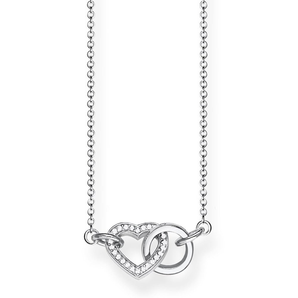 "THOMAS SABO Necklace ""TOGETHER Heart Small"""