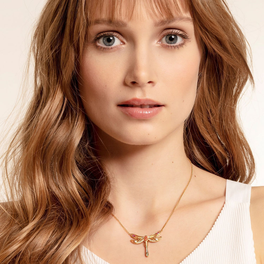 THOMAS SABO Necklace Dragonfly Large