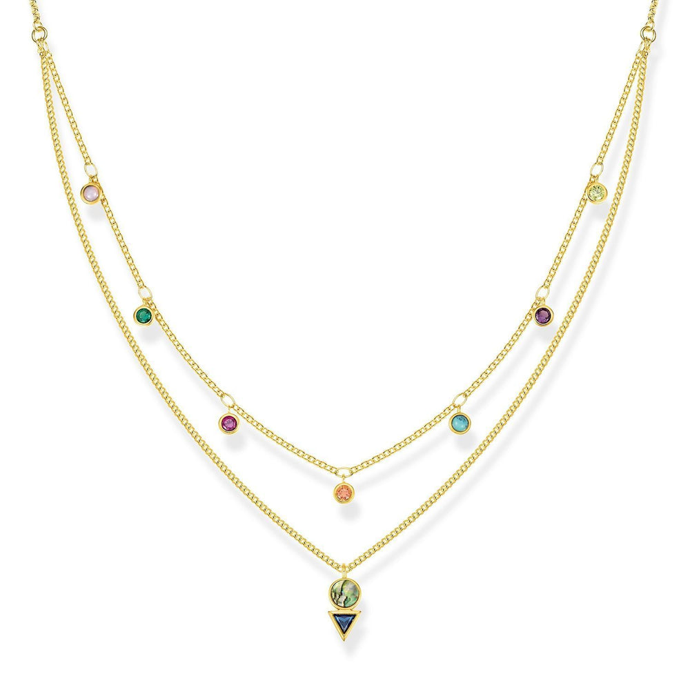 "Thomas Sabo Necklace ""Colourful Stones"""