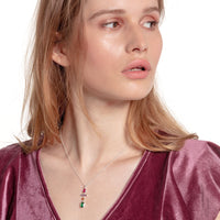 Necklace Colourful Mix Of Forms, Silver | Thomas Sabo