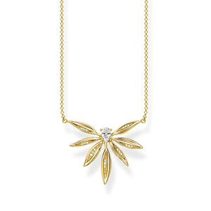 Necklace Leaves Gold | Thomas Sabo