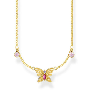 Necklace Butterfly Gold | Thomas Sabo