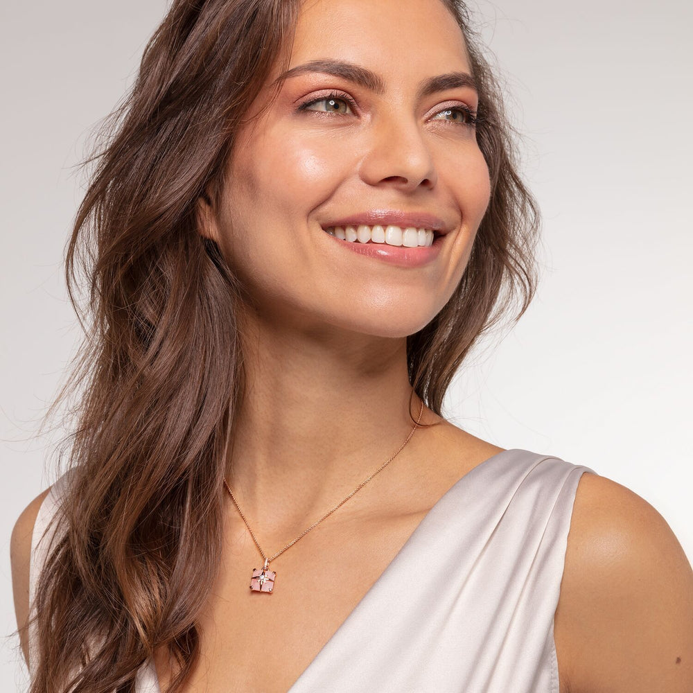 Necklace Pink Stone With Star | Thomas Sabo