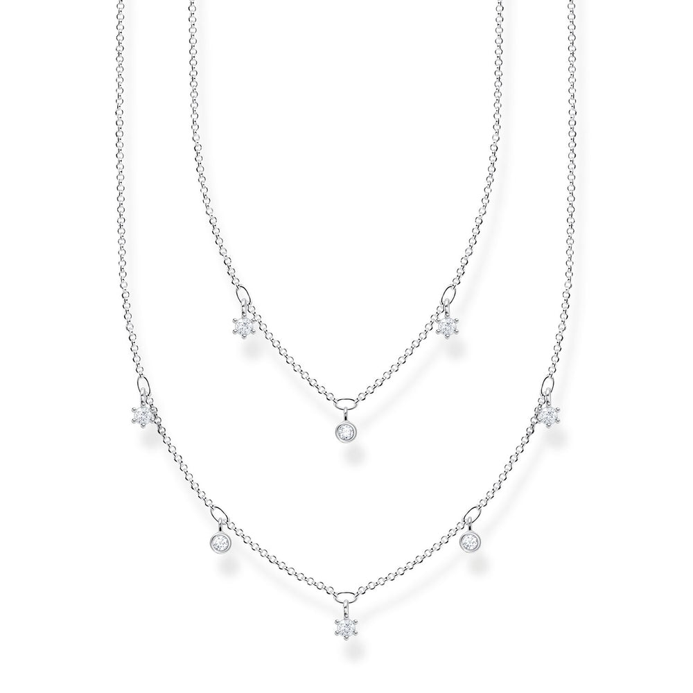 Necklace White Stones | Thomas Sabo Australia