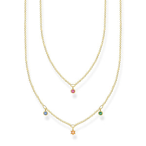 Necklace Colourful Stones | Thomas Sabo Australia