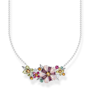 Necklace Flowers Silver | Thomas Sabo Australia