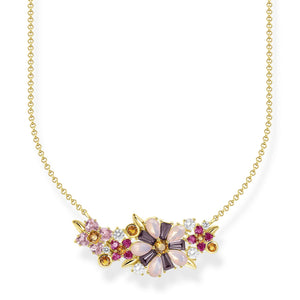 Necklace Flowers Gold | Thomas Sabo Australia