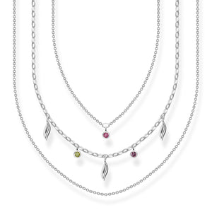 Necklace Leaves Silver | Thomas Sabo Australia