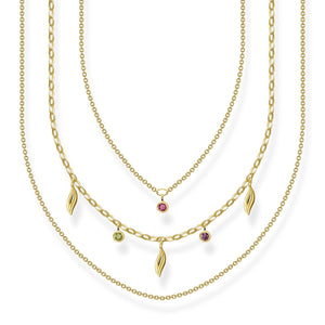 Necklace Leaves Gold | Thomas Sabo Australia