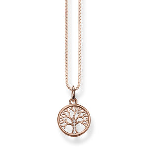 Necklace Tree Of Love Rose Gold | Thomas Sabo Australia