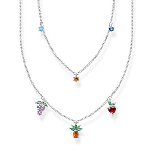 Necklace Fruits  Silver | Thomas Sabo Australia