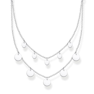 Necklace With Discs Silver | Thomas Sabo Australia