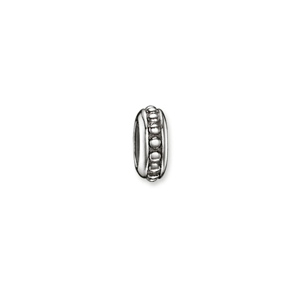 Blackened Sterling Silver Rivet Look Stopper | Thomas Sabo