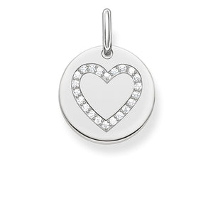 THOMAS SABO Pendant Heart Disc