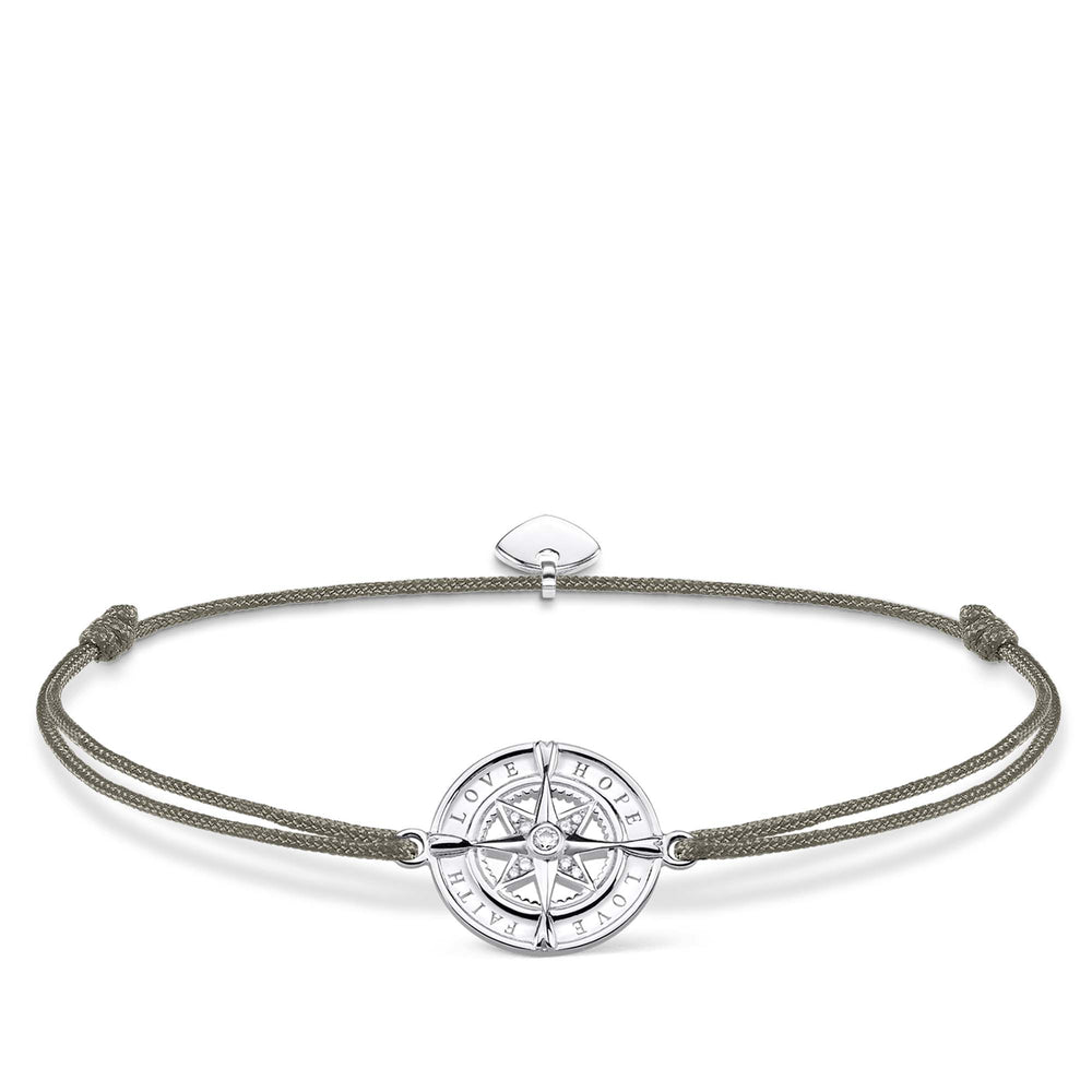 "Bracelet ""Little Secret Compass Faith, Love, Hope"" 