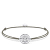 "THOMAS SABO Bracelet ""Little Secret Compass Faith, Love, Hope"""