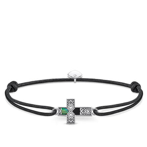 Bracelet Little Secret Cross Abalone Mother-of-pearl | Thomas Sabo