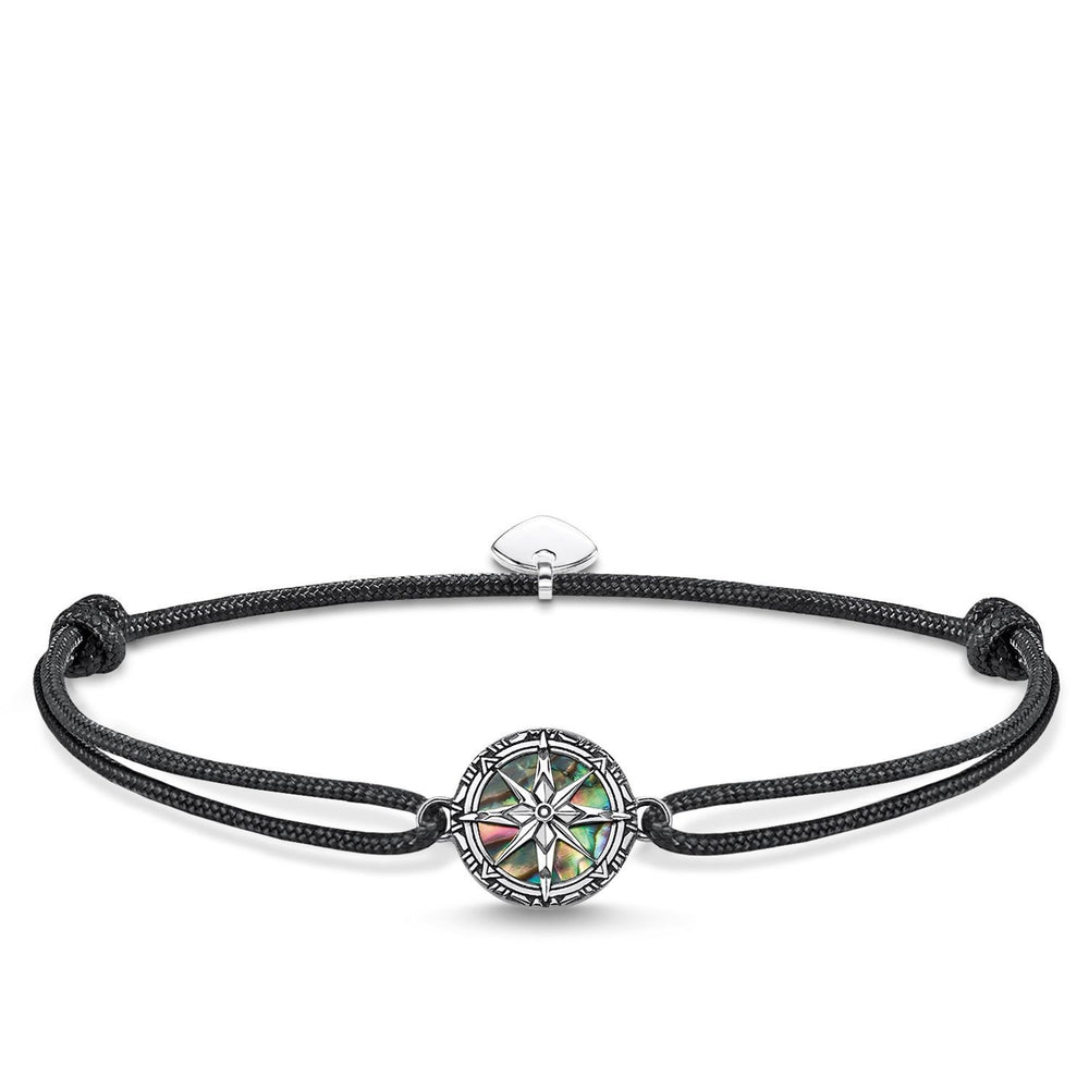 "THOMAS SABO Bracelet ""Little Secret Compass Abalone Mother-of-pearl"""