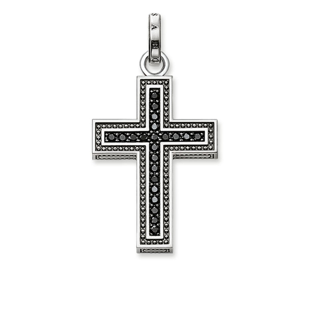 "THOMAS SABO Pendant ""Black Cross Pavé"""