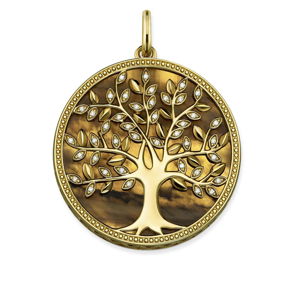 "THOMAS SABO Pendant ""Tree of Love Brown"""