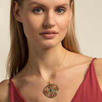 Gold Plated Amulet Pendant | Thomas Sabo