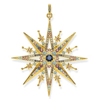 "THOMAS SABO Pendant ""Royalty Star Gold"""