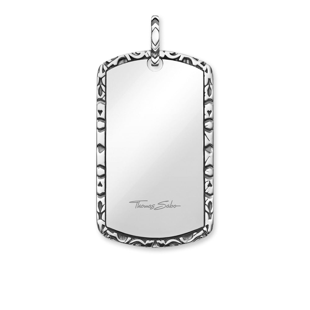 "Pendant ""Dog Tag"""
