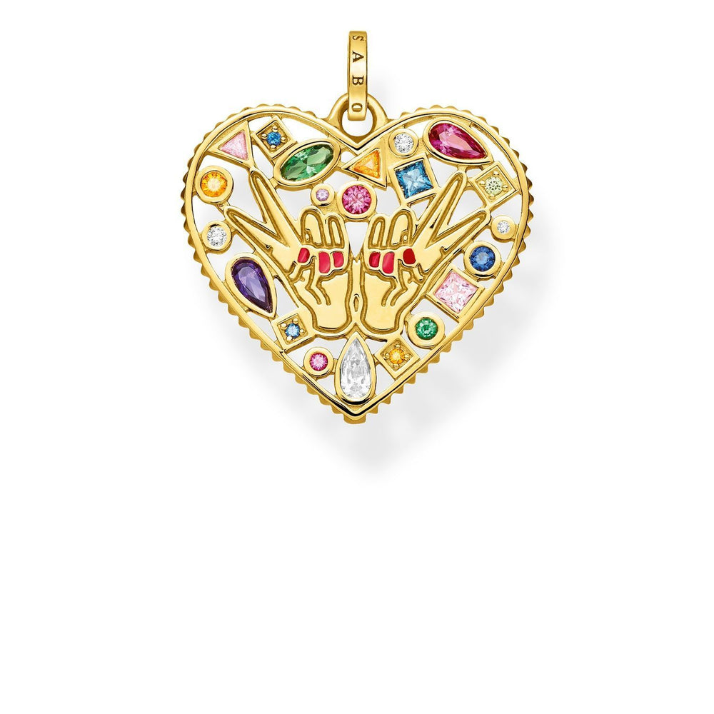 "THOMAS SABO Pendant ""Love & Peace"""