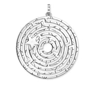 Pendant Labyrinth With Silver Star | Thomas Sabo