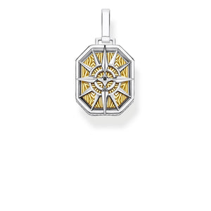 Pendant Compass Gold | Thomas Sabo