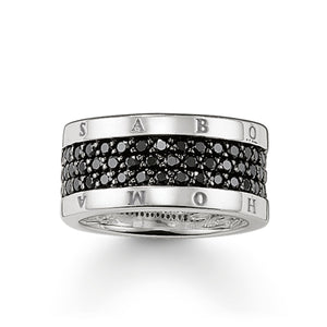 THOMAS SABO Eternity Ring Classic Black