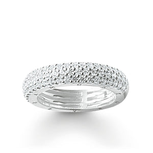 Silver Pave Eternity Ring | Thomas Sabo