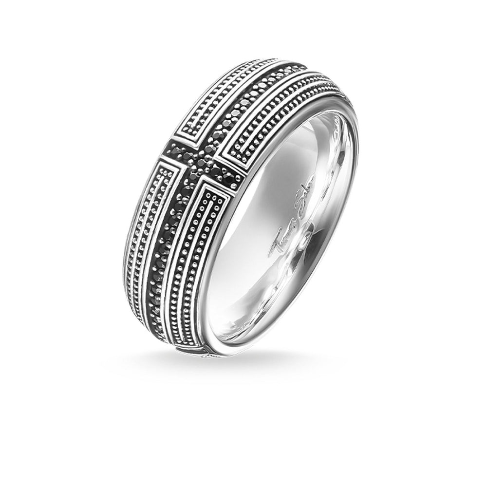 "THOMAS SABO Band Ring ""Cross Pavé"""