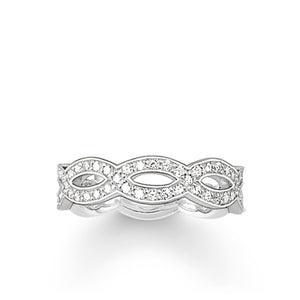 THOMAS SABO Eternity Ring Love Knot
