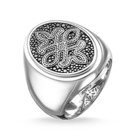 "Signet Ring ""Love Knot"""