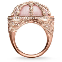 THOMAS SABO Cocktail Ring Pink Karma Wheel