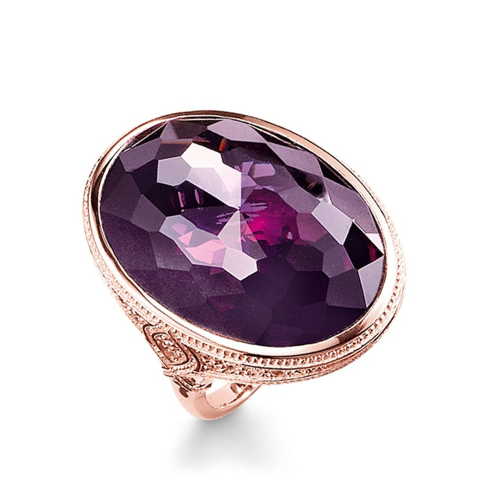 "Cocktail Ring ""Purple"""