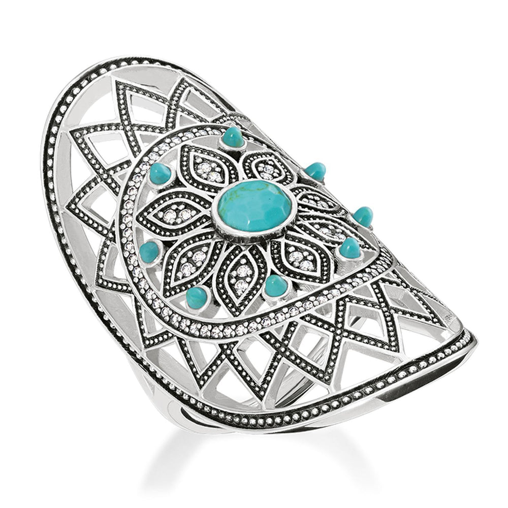 "Ring ""Ethno Dreamcatcher"""