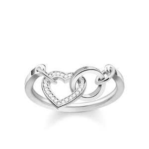 THOMAS SABO Ring TOGETHER Heart